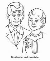 Coloring Parents Grandparents Gran Pages Printable Grandparent Getcolorings Netart sketch template