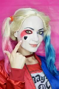 Harley Quinn Makeup Tutorial Step By Step - Mugeek Vidalondon