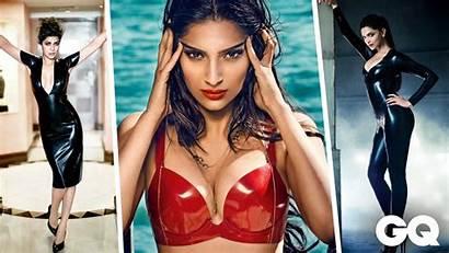 Latex Hottest Leather Ladies Bollywood India Deepika