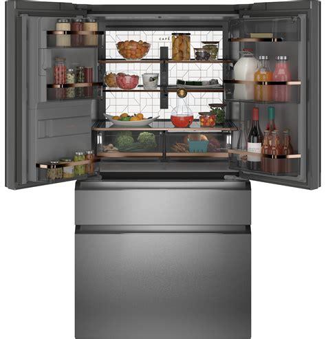 cafe unveils     glass finish appliances