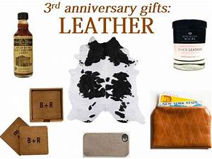 fresh basil 3rd anniversary gifts leather With 3rd wedding anniversary gift ideas