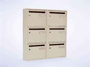 Boites Aux Lettres La Poste : usage int rieur boites aux lettres bois acier boite ~ Dailycaller-alerts.com Idées de Décoration
