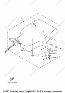 Yamaha Atv 2005 Oem Parts Diagram For Seat