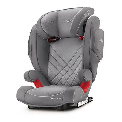 siege auto recaro isofix groupe 2 3 siège auto monza 2 seatfix aluminium grey groupe 2