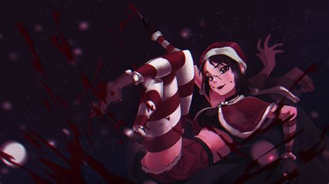 Anime Wallpaper Konachan - blood yandere chan yandere simulator konachan