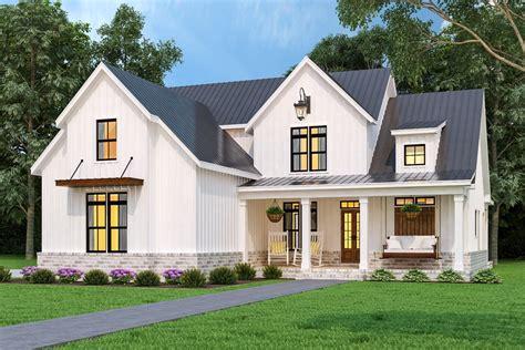 charming modern farmhouse style house plan  cranberry gardens