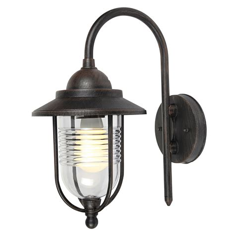 blooma marco bronze effect black mains powered external wall light departments diy at b q