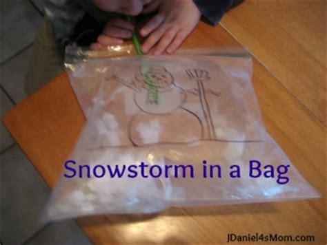 preschool activity snowstorm in a bag jdaniel4s 519 | jdaniel4smom snowstorm bag title