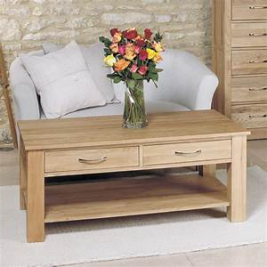 50 off light oak coffee table with drawers mobel solid oak With light oak coffee table with drawers