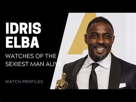 Idris Elba Watch Collection | The Watch Club by SwissWatchExpo
