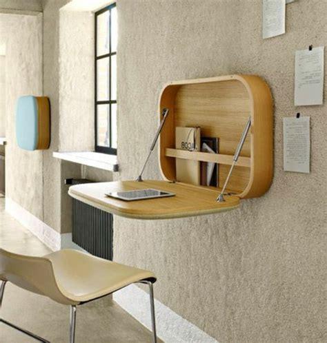 bureau rabattable designs uniques de bureau suspendu