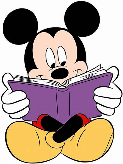 Mickey Mouse Disney Reading Clip Mickeymouse Minnie