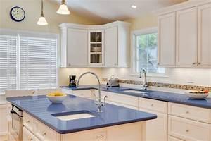 blue-kitchen-countertops-Kitchen-Beach-with-alessi-teapot