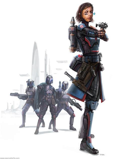 Thomas A. Szakolczay - Bo-Katan and Death Watch