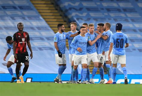 Manchester City 2-1 Bournemouth: Late Phil Foden winner ...