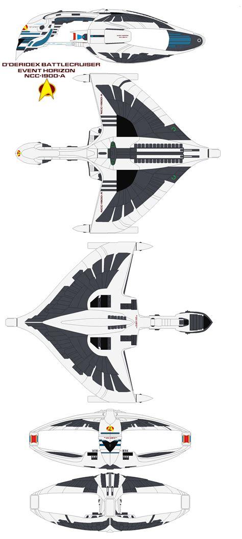 Starfleet Dderidex Battlecruiser Event Horizon By