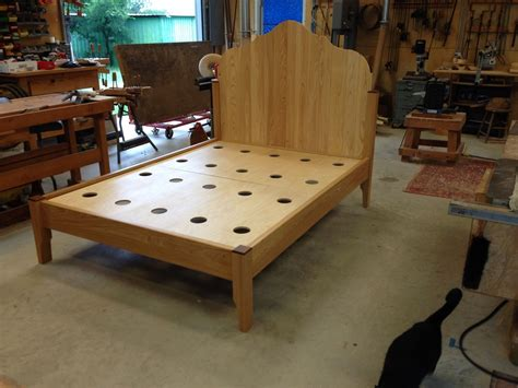 Hand Made Cypress Gustavian Style Bed By White Wind
