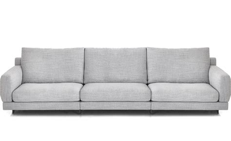 How Is A Sofa by 3 Seat Standard Depth Sofa Hivemodern