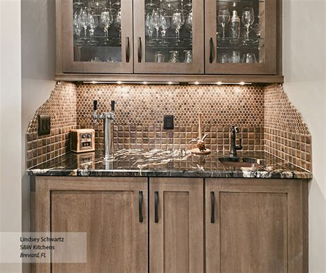Kitchen Cabinets Hardware Ideas - wet bar cabinets omega cabinetry