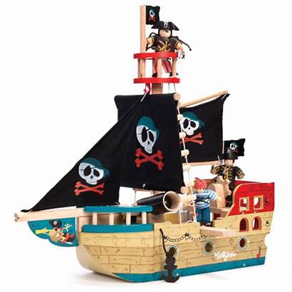 Toy Pirate Ship Van Le Jolly Toys