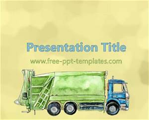 waste management ppt template free powerpoint templates With waste management powerpoint template