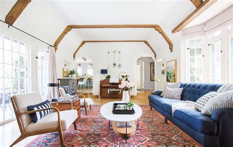 Our Modern English Tudor Living Room Get The Look