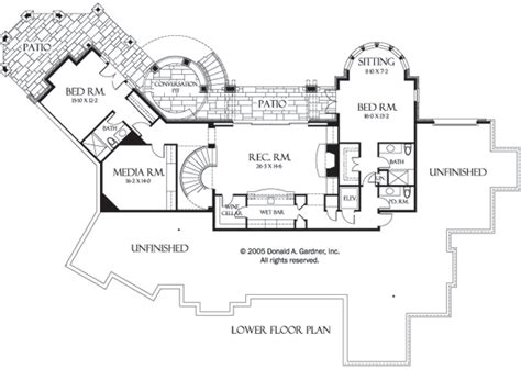 hillside floor plans hillside walkout house plans houseplansblog dongardner com