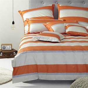 Standard Bettwäsche Größe : bettw sche elegante broadway 2122 orange ~ Orissabook.com Haus und Dekorationen