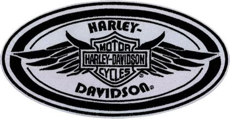 Harley Davidson Reflective Patches