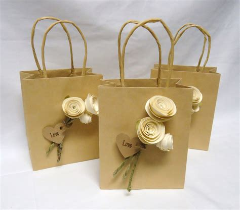 55 favor bags paper 200 middy bitty bags kraft paper