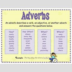 Sasic 4th Grade Class 20112012 More Parts Of Speech Adverbs