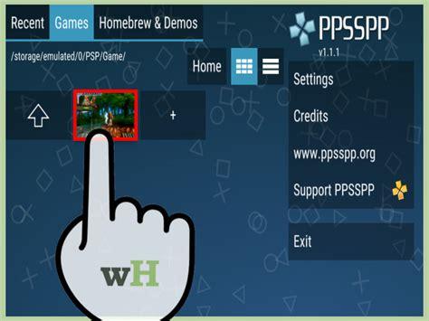 Cómo Jugar Juegos De Psp En Android Con La Aplicación Ppsspp