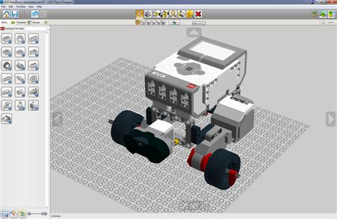 lego digital designer tag search robotics toolkit