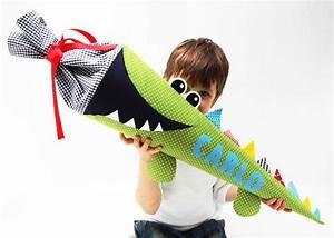 Schultüte Jungen Kaufen : schult te freches krokodil krokodile schult te und dawanda ~ Lizthompson.info Haus und Dekorationen