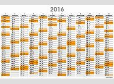 Planner 2016, il calendario planner da scaricare e stampare