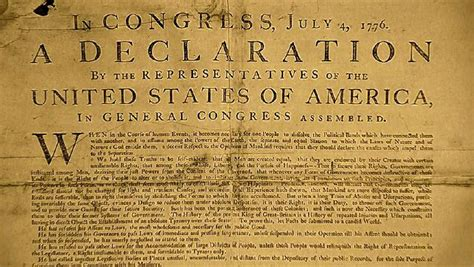 recorder rare copy  declaration  independence