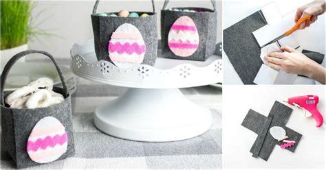 diy  sew easter basket   printable template