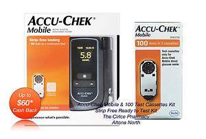 accu chek mobile cassette 100 accu chek mobile test cassettes 100