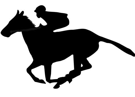 File:Flat racing clipart.svg - Wikimedia Commons