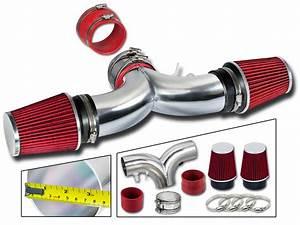 Dual Twin Air Intake Kit Dry Filter 94