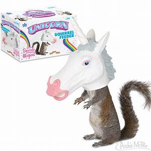 Unicorn Squirrel Feeder - Archie McPhee & Co