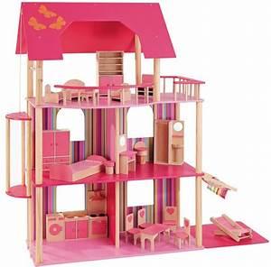 Puppenhaus Für Barbie : howa 70102 4027914701027 holz puppenhaus f r barbie puppen howa puppenh user ab 3 jahren mit 5 ~ A.2002-acura-tl-radio.info Haus und Dekorationen