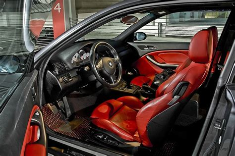 2002 Bmw M3 With Imola Red Interior