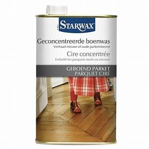 cire concentree starwax entretien maison With parquet ciré entretien