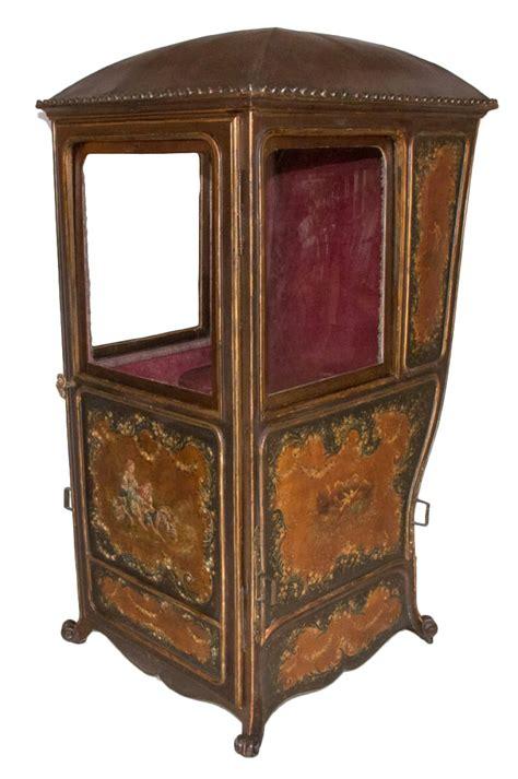 Chaise à Porteur époque Louis Xv  Xviiie Siècle N59876