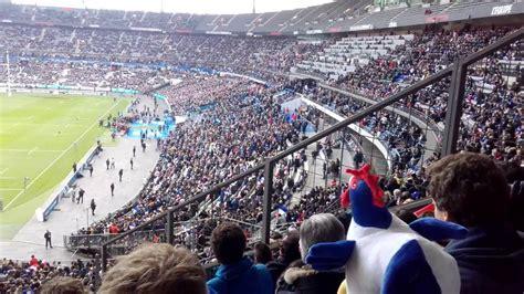 Stade de France Mexican wave La ola - YouTube
