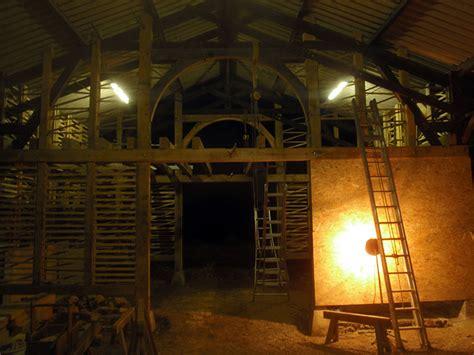 bureau bois et m騁al charpentier traditionnel pan de bois bretagne 29