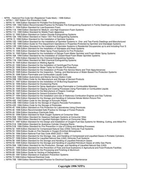Nfpa-list Buyer Com Vn | Firefighting | Fires