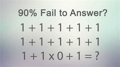 90% Fail To Answer This Correctly!  Math Activities  Pinterest  Watches, Search And The O'jays