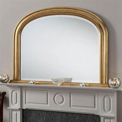 Mirror Mirrors Mantle Gold Overmantle Antique French